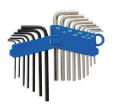 ALL CARS - HEX KEY SET 16pc